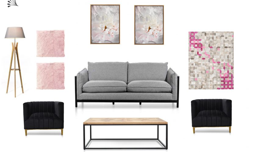 Industrial Living with Feminine Touch