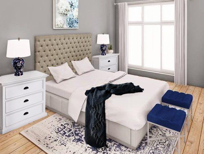 Hamptons Bedroom Furniture Package