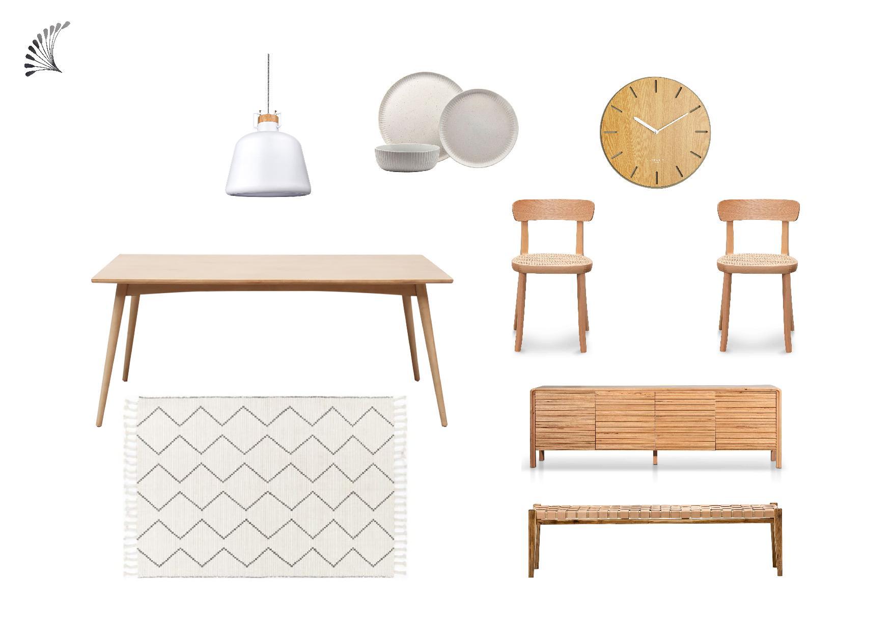 Scandinavian Dining Furniture Package