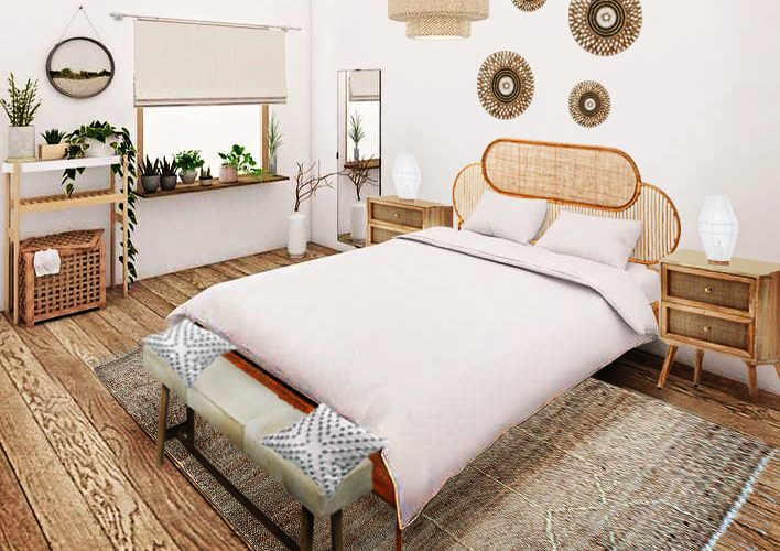 Boho Bedroom Furniture Package