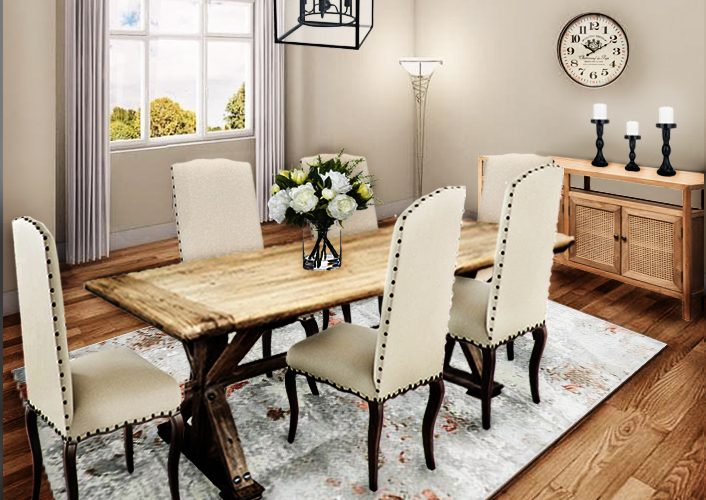 French Provincial Dining Room Furniture Package