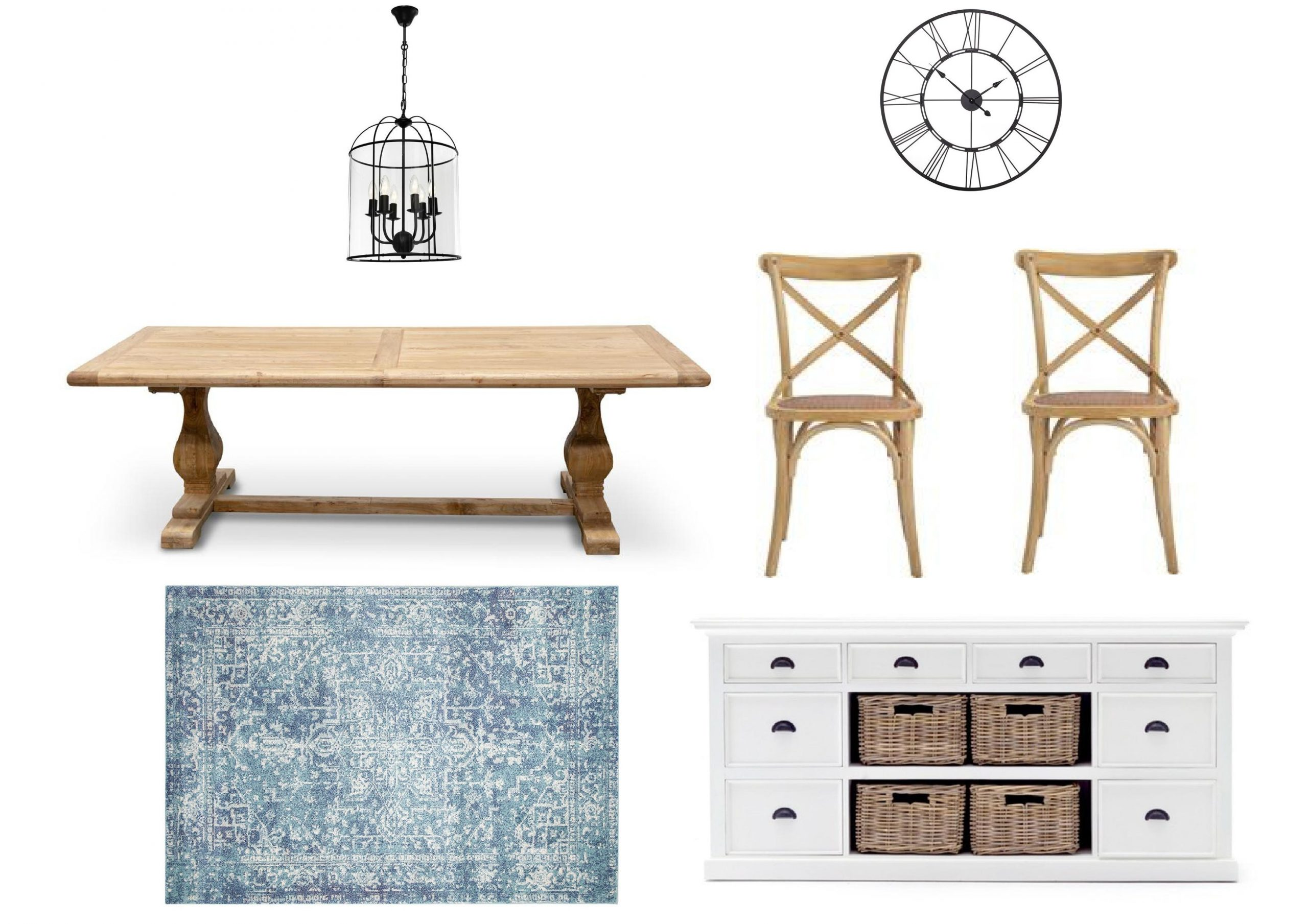 Classic Hamptons Dining Furniture Package