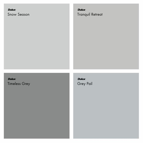 Choosing the right grey wall paint colour